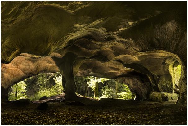 Mystische Höhlen …